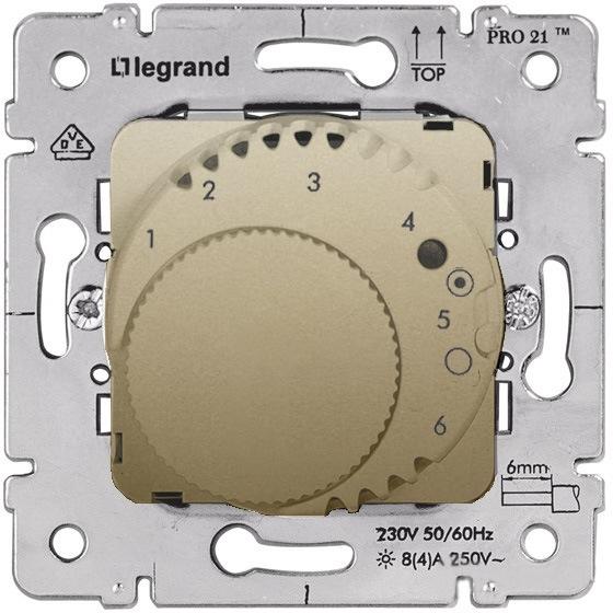 Купить со скидкой Galea Life 775690 Термостат для теплых полов +10…+60°С (16 А, 220 В, под рамку, скрытая установка, t
