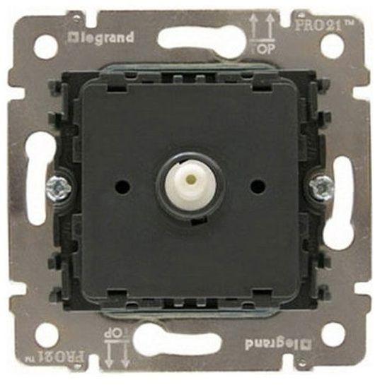 Купить со скидкой Galea Life 775910 Светорегулятор роторный (1000 Вт, механизм, скрытая установка) Legrand