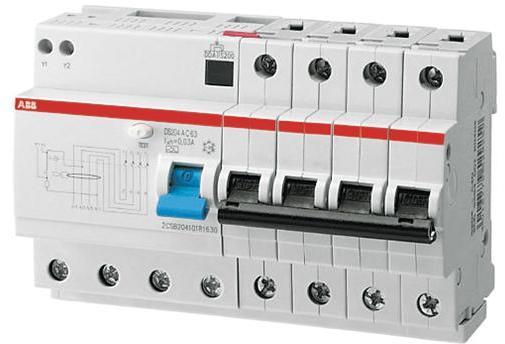 Купить со скидкой DS204 2CSR254001R1404 Выключатель дифференциального тока четырехполюсный 40А 30мА (тип AC) ABB