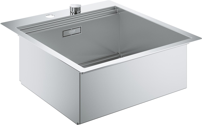 Купить со скидкой K800 31583SD0 Мойка кухонная 51.8х6 см (нержавеющая сталь) Grohe