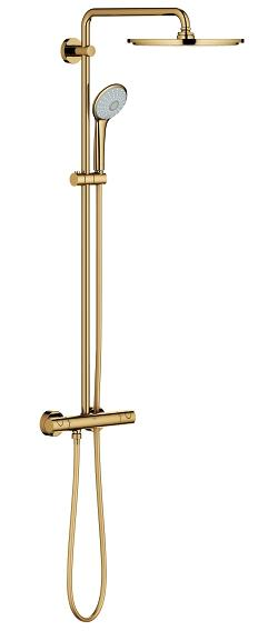 Купить со скидкой Euphoria XXL 310 26075GL0 Душевая система с термостатом (холодный рассвет, глянец) Grohe
