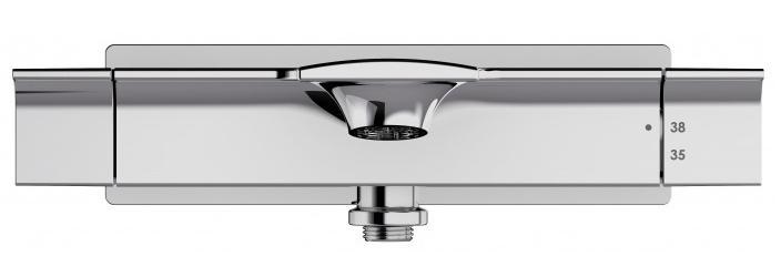 Термостат Jacob Delafon Stance E9103-CP для ванны с душем y для ванной комнаты