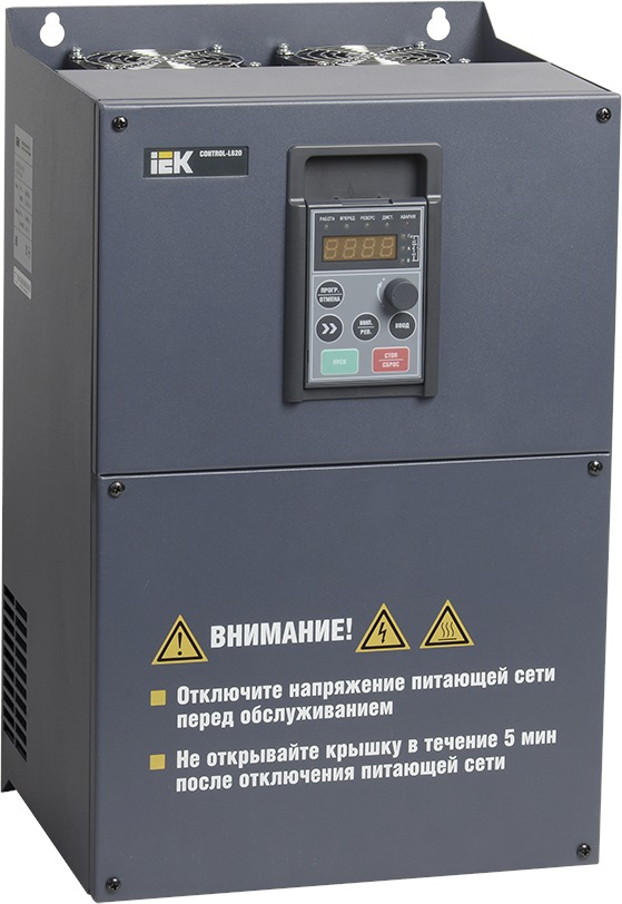 Фото #1: CNT-L620D33V18-22TE Преобразователь частоты CONTROL-L620 380В, 3Ф 18-22 kW IEK