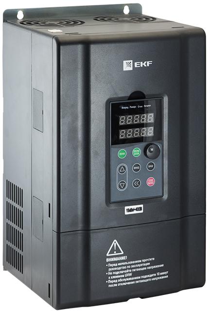 Купить со скидкой VT100-015-3B Преобразователь частоты 15/18кВт 3х400В VECTOR-100 PROxima EKF