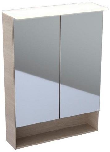 Купить со скидкой Acanto 500.644.00.2 Шкаф зеркальный 59.5х83 см (дуб мистик) Keramag