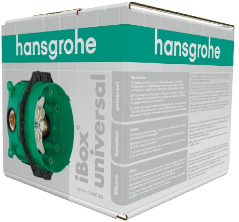 скрытая часть смесителя Hansgrohe Ibox Universal 01800180 скрытый 1 кран