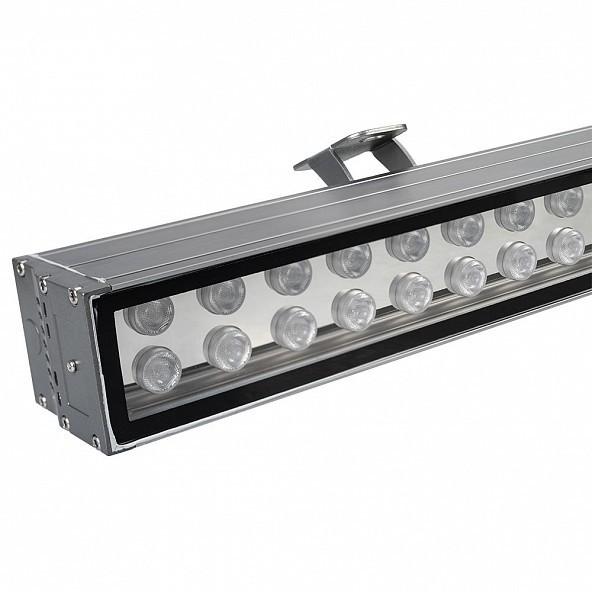 Купить со скидкой 023638 Прожектор линейный AR-LINE-1000XL-54W-24V RGB (серый, 30 deg) Arlight