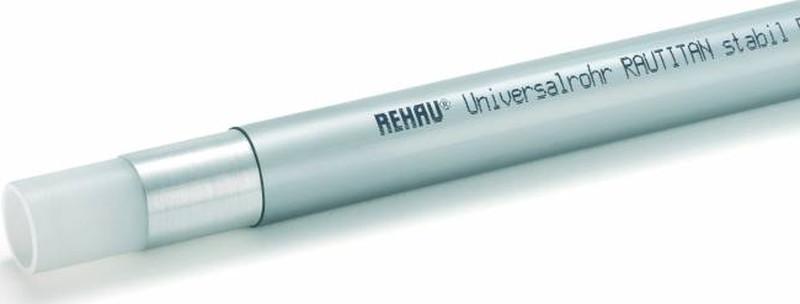 Купить со скидкой RauTitan stabil 11301511025 Труба полиэтиленовая универсальная (PE-X/AI/PE, 32мм, бухта до 25м) Упак