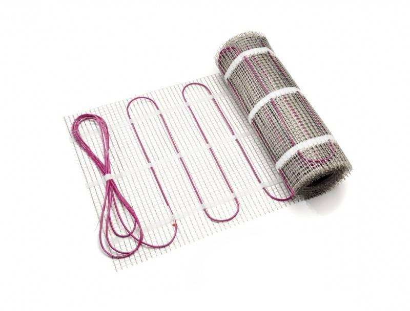 Купить со скидкой Solelec² 13219011555Нагревательный мат двухжил. (375 Вт, 0.5 x 5 м, 2.5 м²) REHAU