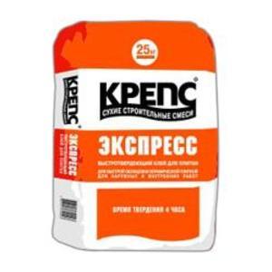 Фото КРЕПС Экспресс Клей для плитки и керамогранита (мешок/25кг)