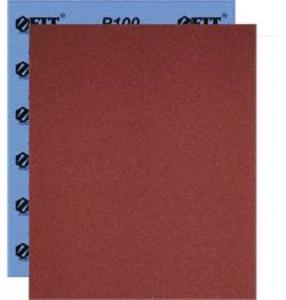 Фото FIT Профи 38196 Бумага наждачная водостойкая Р120 (на тканевой основе, алюминий-оксидная, 230х280 мм, 10 шт.)