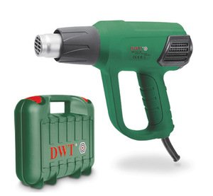 Фото DWT HLP20-600 K BMC Фен технический (2000 Вт, 50-600 °C, 350-500 л/мин)