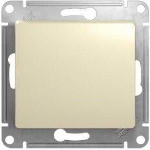 Фото Schneider Electric Glossa GSL000261 Переключатель одноклавишный (10 А, под рамку, скрытая установка, бежевый)