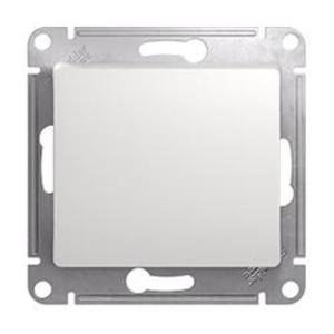Фото Schneider Electric Glossa GSL000161 Переключатель одноклавишный (10 А, под рамку, скрытая установка, белый)