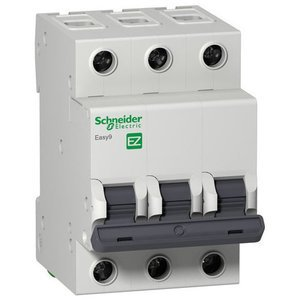 Фото Schneider Electric Easy9 EZ9F34332 Автоматический выключатель трехполюсный C32A (4.5 кА)