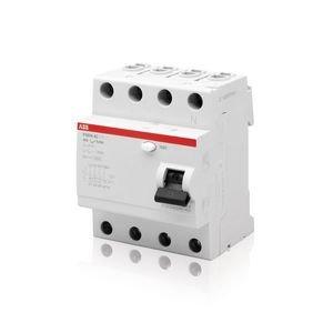 Фото ABB FH204 AC-63/0,03 2CSF204004R1630 Выключатель дифференциального тока четырехполюсный 63A 30мА (тип АС)