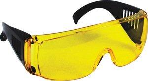Фото FIT 12220 Очки защитные с дужками (желтые)