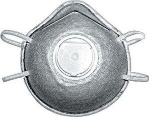 Фото FIT 12288 Маска полипропиленовая трехслойная с клапаном (угольный фильтр)