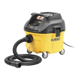 Фото DeWALT DWV900L-QS Универсальный промышленный пылесос (1400 Вт, 26.5 л)