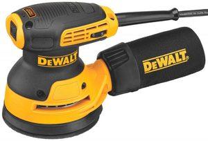 Фото DeWALT DWE6423-QS Шлифовальная эксцентриковая машина (250 Вт, 8000-12000 об/мин, 125 мм)