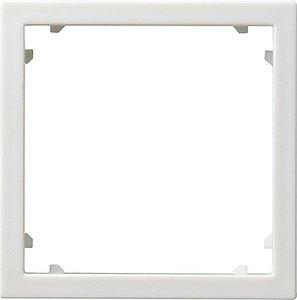 Фото Gira System55 028303 Рамка адаптерная для устройств 45х45 мм (белая глянцевая)