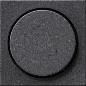 Фото Gira System55 065028 Крышка для роторного диммера (антрацит)