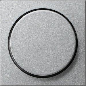 Фото Gira System55 065026 Крышка для роторного диммера (алюминий)