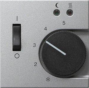 Фото Gira System55 149426 Крышка для терморегулятора (датчик, алюминий)