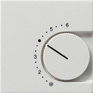 Фото Gira System55 149627 Крышка для терморегулятора (белая матовая)