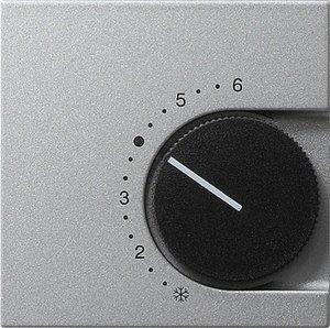 Фото Gira System55 149626 Крышка для терморегулятора (алюминий)
