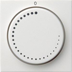 Фото Gira System55 065227 Крышка для датчика частоты вращения (белая матовая)