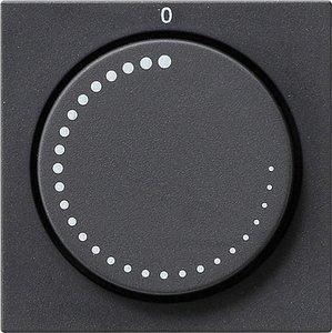 Фото Gira System55 065228 Крышка для датчика частоты вращения (антрацит)