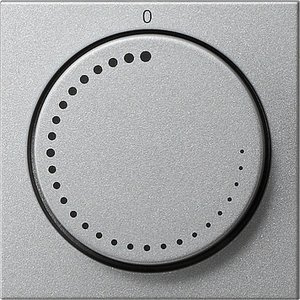 Фото Gira System55 065226 Крышка для датчика частоты вращения (алюминий)