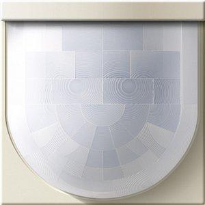 Фото Gira System55 230101 Крышка для датчика движения Standard System 2000 (кремовая глянцевая)