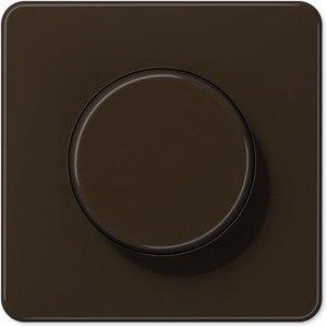 Фото Jung CD500 CD540BR Крышка для роторного диммера (коричневая)