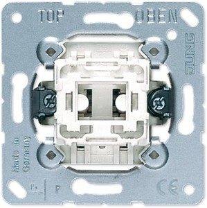 Фото Jung 507U Выключатель одноклавишный перекрестный (10 А, механизм, с/у)