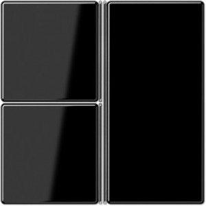 Фото Jung A403TSASW Комплект клавиш 3 группы для кнопочного модуля (черный)