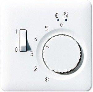Фото Jung CD500 CDFTR231PLWW Крышка для терморегулятора (белая)