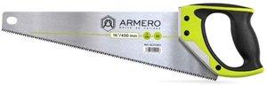Фото Armero A531/401 Ножовка по дереву 400 мм (средний зуб 3D, двухкомпонентная ручка, 7TPI)