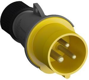 Фото ABB 2CMA101946R1000 Easy&Safe Вилка кабельная 216EP4,16А,2P+E,IP44,4ч