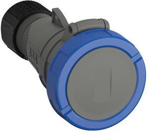 Фото ABB 2CMA101142R1000 Easy&Safe Розетка кабельная 232EC6W, 32А, 2P+E, IP67, 6ч