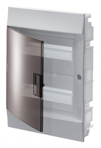 Фото ABB 1SLM004101A2205 Бокс в нишу Mistral41 24М прозрачная дверь (c клемм)