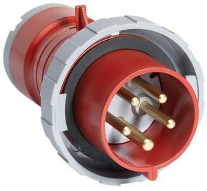 Фото ABB 2CMA166524R1000 Вилка кабельная 432P6W, 32А, 3P+N+E, IP67, 6ч