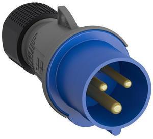 Фото ABB 2CMA101975R1000 Вилка кабельная Easy&Safe 232EP6,32А,2P+E,IP44,6ч