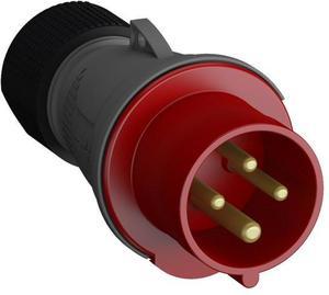 Фото ABB 2CMA101956R1000 Вилка кабельная Easy&Safe 316EP6,16А,3P+E,IP44,6ч