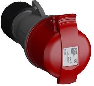 Фото ABB 2CMA102051R1000 Розетка кабельная Easy&Safe 432EC6,32А,3