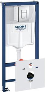 Фото Grohe Rapid SL 38775001 Система инсталляции 4 в 1 для подвесного унитаза (рама, бачок, клавиша, звукоизоляция)