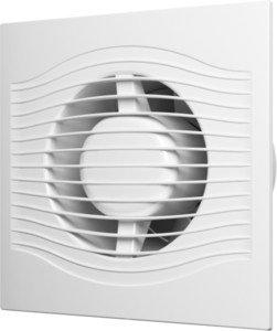 Фото Эра Slim 4C MRH Вентилятор накладной 100 мм (90 м³/ч, 220 В, 7.8 Вт, 25 дБ, обр. клапан, эл. управление, ш/подшипники, защита, IP25, белый)