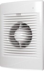 Фото Эра Standard 5 Вентилятор накладной 125 мм (185 м³/ч, 220 В, 20 Вт, 36 дБ, ш/подшипники, индикатор, защита, IP24, белый)