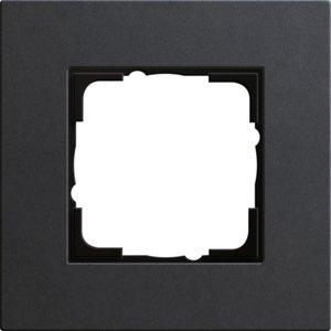 Фото Gira Esprit Linoleum-Multiplex 0211226 Рамка 1-постовая (антрацит)